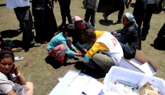 Mobile clinic in Langtang Vally and Rusuwa, Nepal