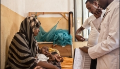 Maternity ward in Ethiopia