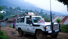 MSF Supported Masisi hospital in North Kivu, DRC.