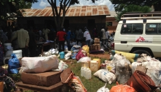 CAR - Displaced people leaving Berberati's diocese