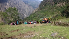 Mobile clinic in Sindhupalchowk and Pasuwa districts, Nepal