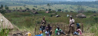 DRC - Displacements of population following heavy fighting in Geti